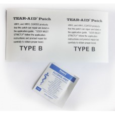 Type B,  15 cm. Tear-Aid, the indispensable repair patch for outdoor and indoor usage