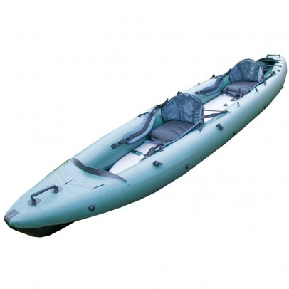 Inflatable kayak Alpha-Zet 450 with high pressure drop-stitch floor