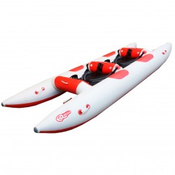 Cataraft with raft seat ContouR-4