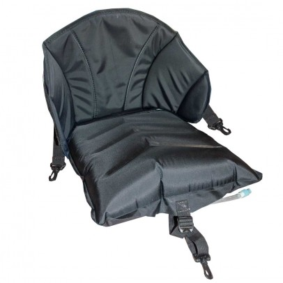 Inflatable seat (backrest + seat) for inflatable kayak
